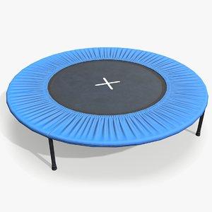3D model trampoline lo