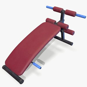 3D ready abs bench
