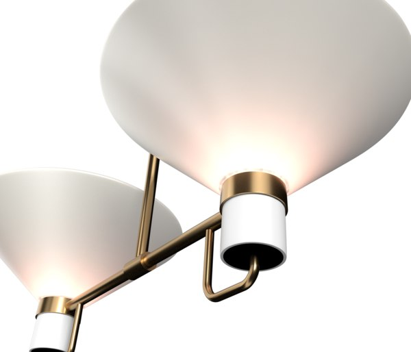 3D lauriston 2-light up-pendant