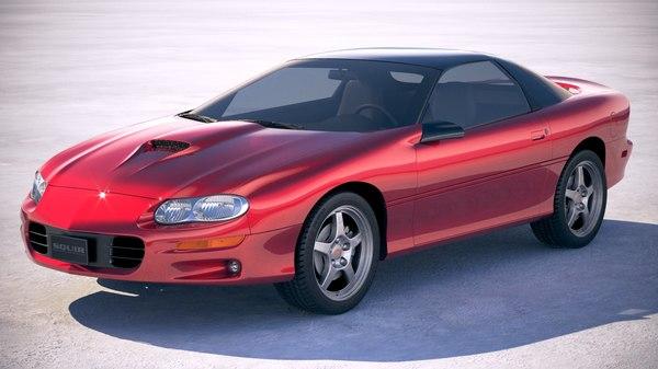 3D chevrolet camaro 1999 model