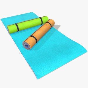 yoga mats model