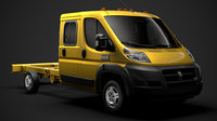 3D ram promaster cargo chassis