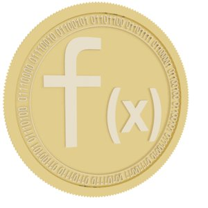 3D function x gold coin