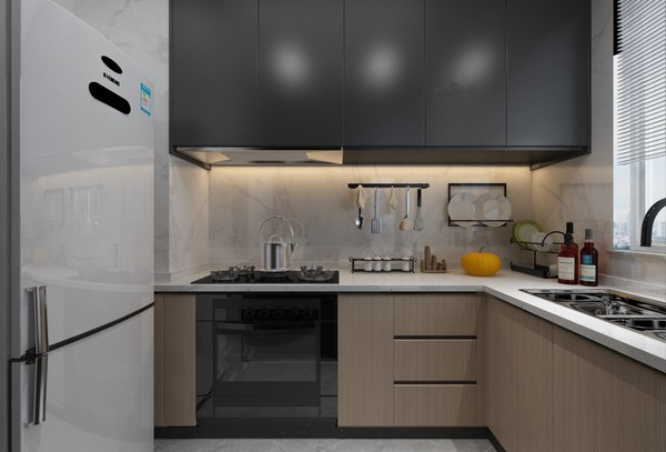 3D kitchen 2800x1600 model
