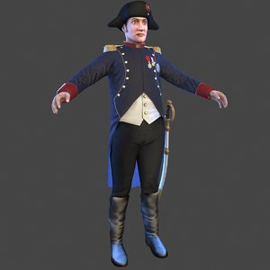 3D napoleon model