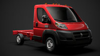 ram promaster cargo chassis 3D model