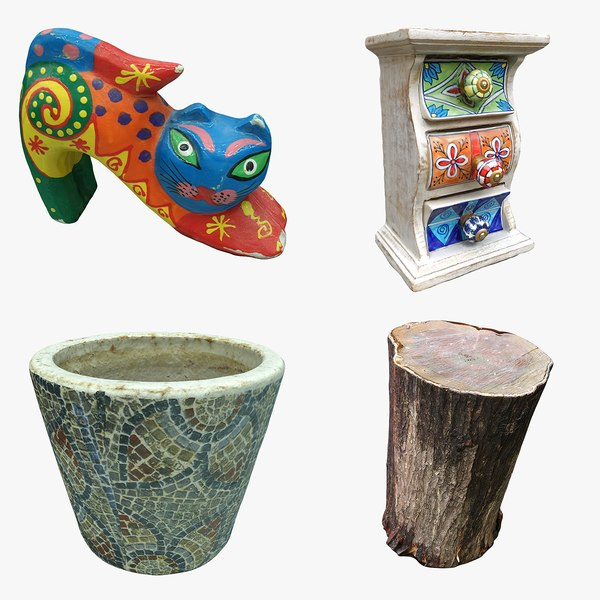 decoration pot 3D model