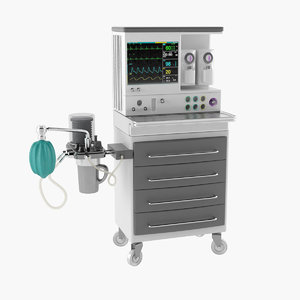 3D anesthesia machine