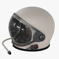 3D astronaut helmet model
