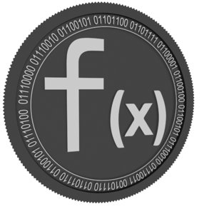 function x black coin 3D model
