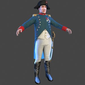 3D napoleon bonaparte