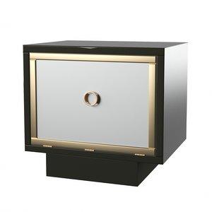 3D mono bedside table