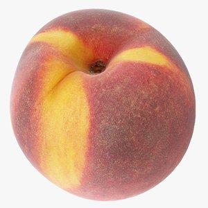 3D model peach 02