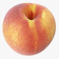 3D peach 03 model