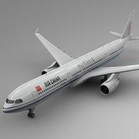 airbus a330-300 air china 3D model