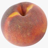 3D model peach 04