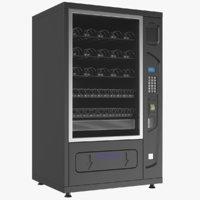 3D vending machine model