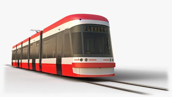 tram bombardier flexity outlook model
