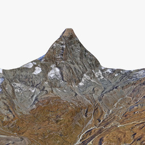 matterhorn mount area 3D model
