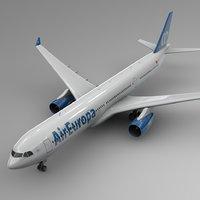 3D airbus a330-300 air europa