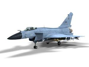 3D j-10b chengdu