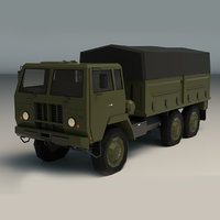 3D military truck tr model