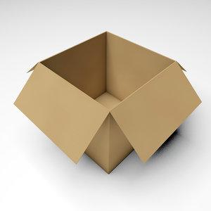 box corrugated model