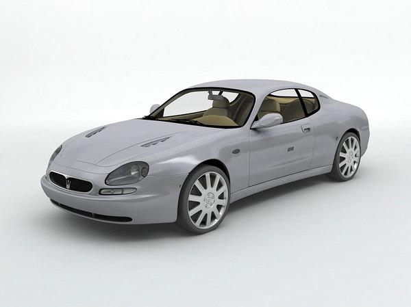 3D 2000 maserati 3200gt sports car