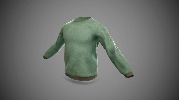3D t-shirt long sleeves