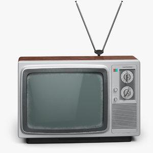 vintage samsung television set model