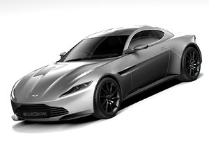 car aston martin db10 3D model