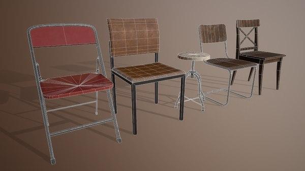 3D prop games model