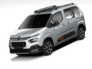 3D citroen berlingo 2021