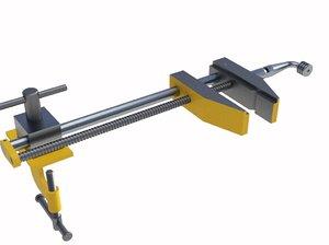 industry vise tool 3D model