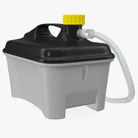 plastic lab tank 3D
