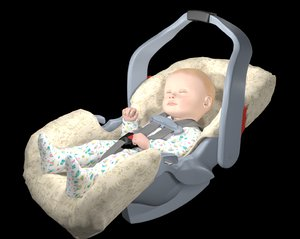 3D infant baby child car seat