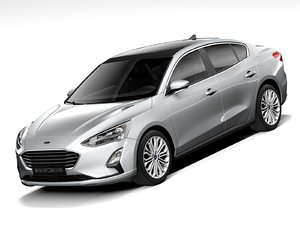 focus sedan 2021 model