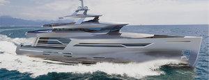 concept sport navy 3D model