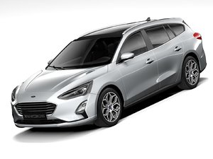focus wagon 2021 3D model