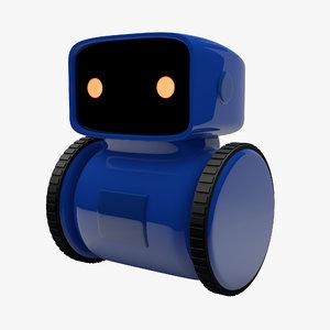 wheeled robot 3D model