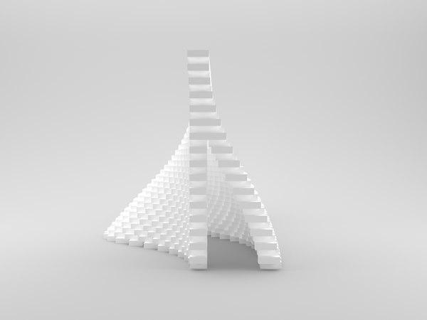 serpentine pavilion 3D model