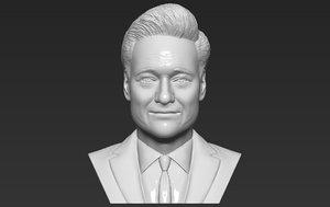 conan bust ready printing 3D