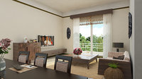 Classic Livingroom Scene