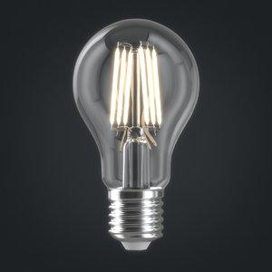 light bulb 3D