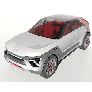 kia habaniro 3D model