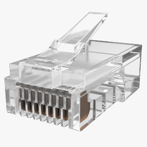 rj45 connector model