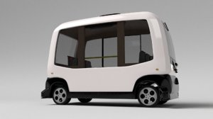 3D autonom bus