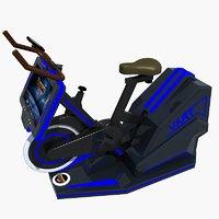 modern vr bike 3D model