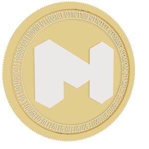 matic gold coin 3D model
