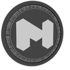3D matic network black coin model